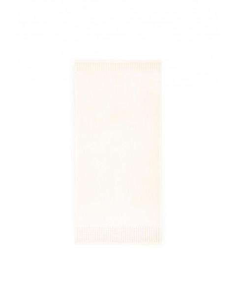Ręcznik kremowy Paulo z bawełny egipskiej 50x100 cm