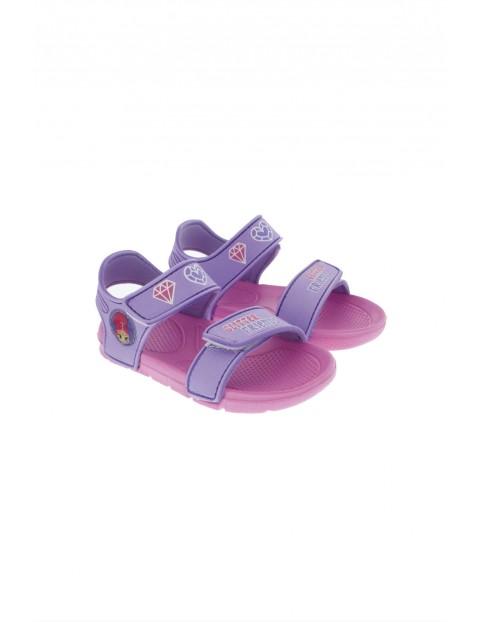 Sandały dziewczęce Shimmer&Shine-fioletowe