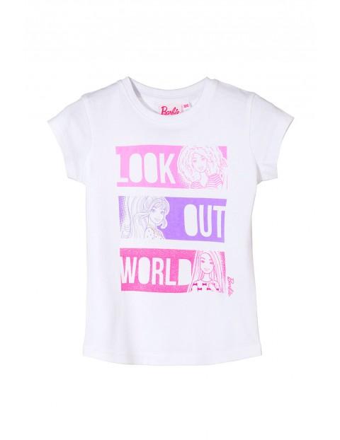 T-shirt dziewczęcy Barbie 3I3521