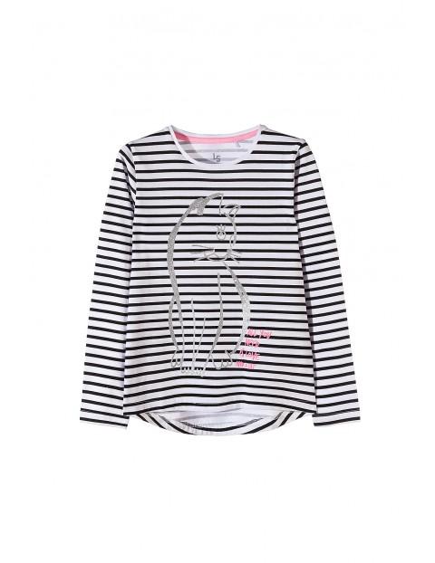Bluzka dziewczęca 100% bawełna 4H3515