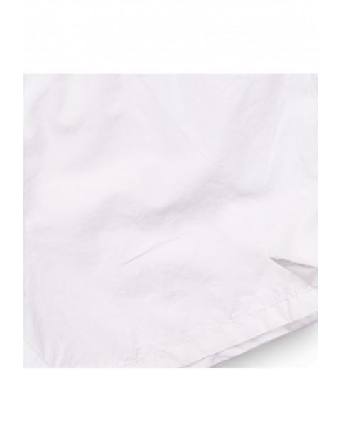 Szorty dziewczęce bawełniane białe
