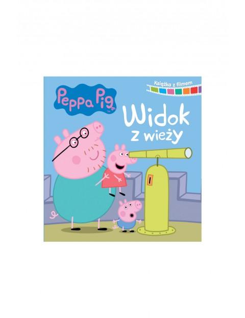 Książka z filmem - Widok z wieży Świnka Peppa