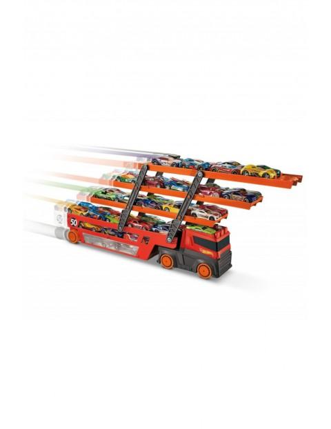 Hot Wheels - Mega Transporter do przewozu aut wiek 3+
