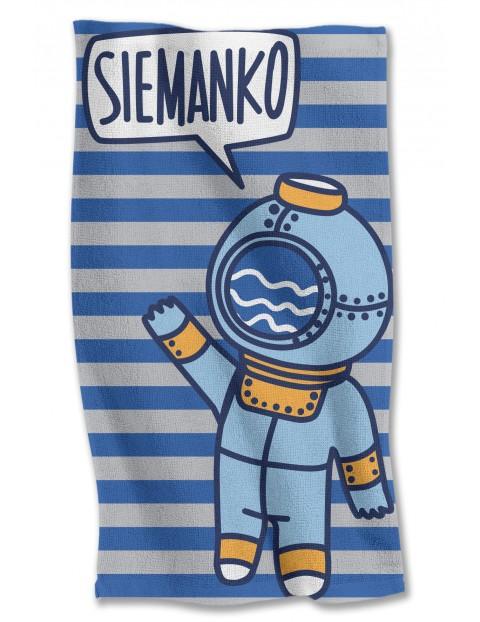 Ręcznik kąpielowy  Siemanko 40x70 cm