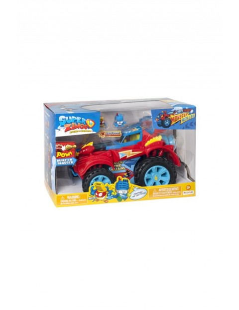 Super Zings S Hero Truck Monster Roller MagicBox wiek 3+