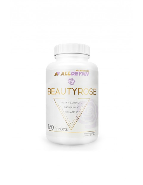 Suplementy diety - Allnutrition ALLDEYNN Beautyrose - 120 kapsułek