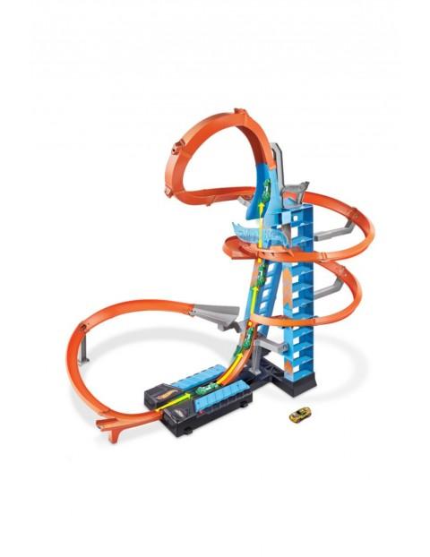 Hot Wheels Action - Zestaw torów Wieża Podniebne kraksy wiek 5+