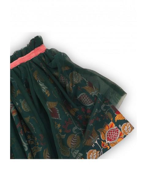 Spódnica tiulowa w kwiaty