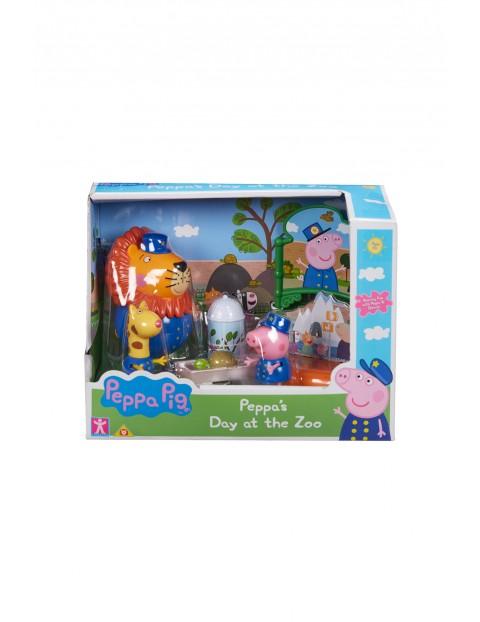 Figurki Peppa- zestaw zoo- wiek 3+
