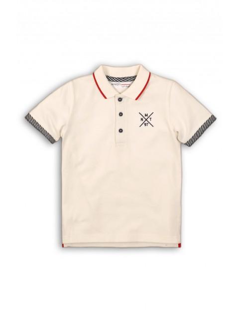 Koszulka chłopięca biała