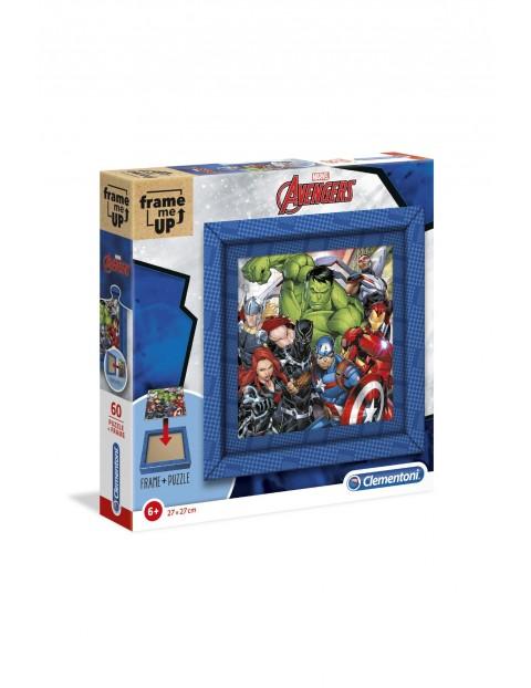 Puzzle  Frame me up Avengers z ramką -  60 elementów