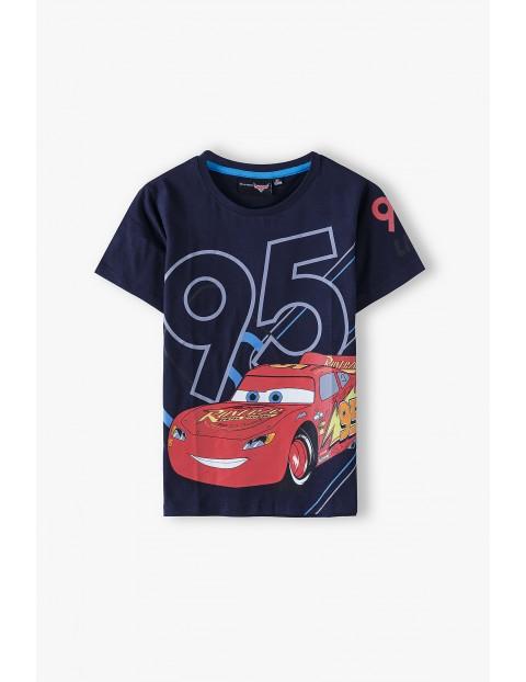 T-shirt chłopięcy Auta