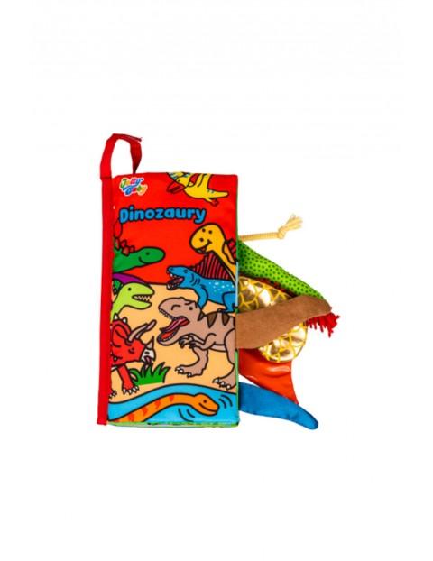 Książka dla dzieci Dinozaury wiek 0+
