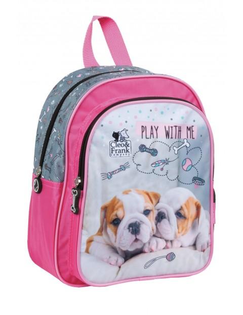 Plecak dla przedszkolaka z pieskami