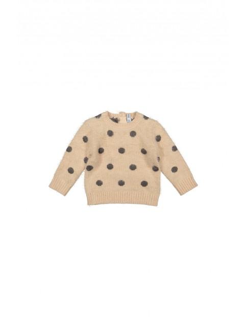 Sweter dziewczęcy w grochy 3C35A5