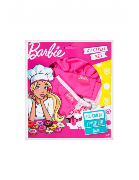 Barbie Zestaw kucharza- akcesoria 3Y34E2