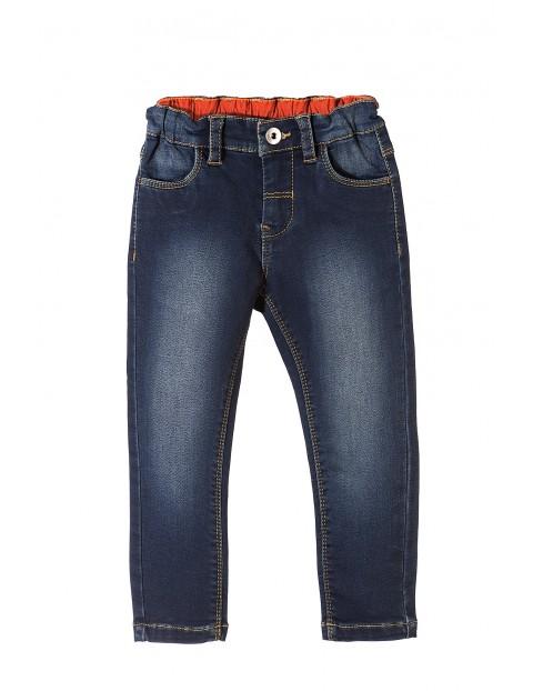 Spodnie chłopięce jeansowe 1L3513