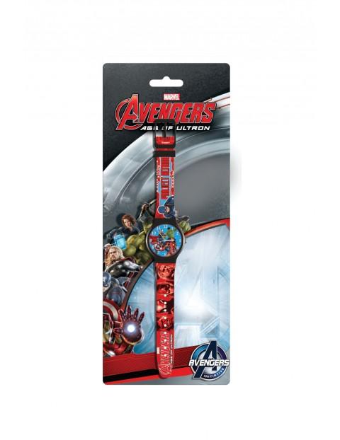 Zegarek analogowy Avengers wiek 3+