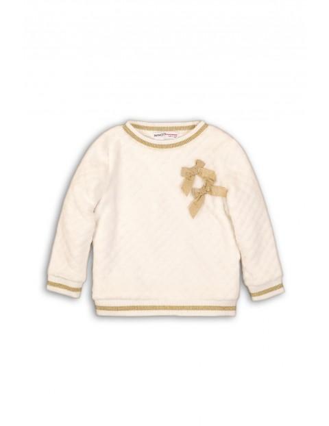 Bluza dla dziewczynki- złote dodatki rozm 92/98