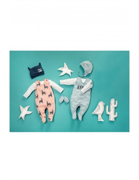 Śpiochy dla niemowlaka bawełniane- Happy