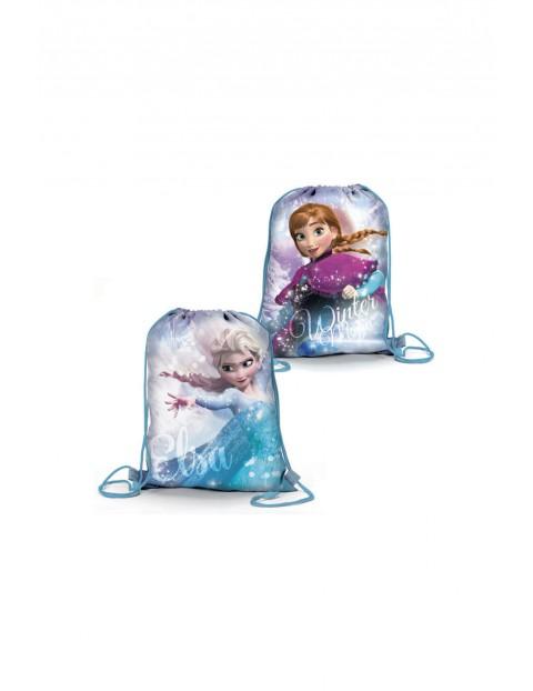 Worek na buty Frozen Anna i Elsa