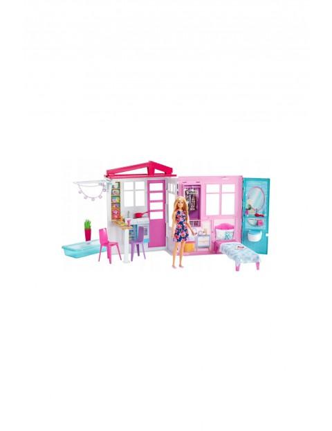 Barbie Przytulny domek z lalką wiek 4+