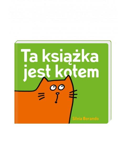 """Książka dla dzieci """"Ta książka jest kotem"""""""