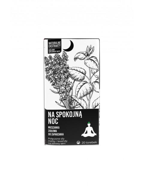 Na spokojną noc-Mieszanka ziołowa do zaparzania Noble Health 20x2g