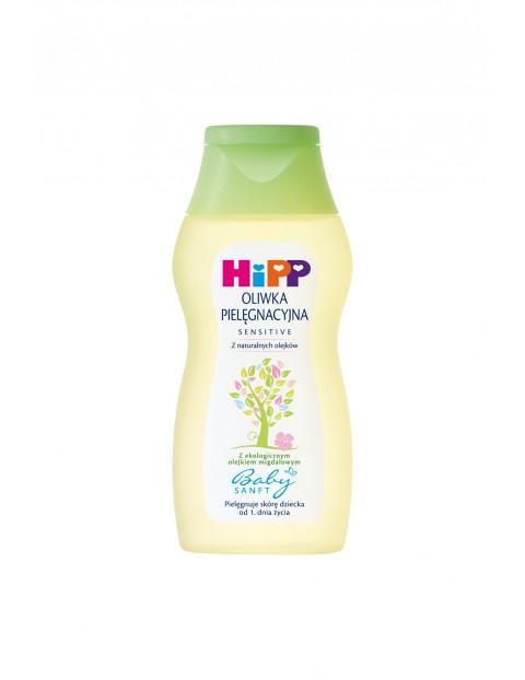 HiPP Babysanft Sensitive Oliwka pielęgnacyjna od 1. dnia życia 200 ml