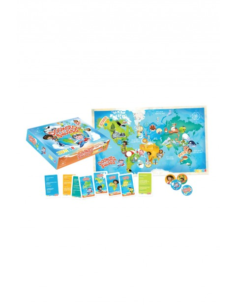 Gra edukacyjna Maxi dookoła świata junior wiek 6+