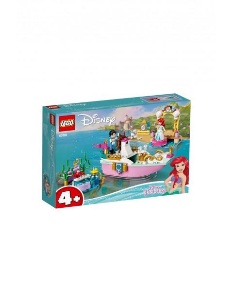 LEGO Disney Princess - Świąteczna łódź Arielki - 114 el