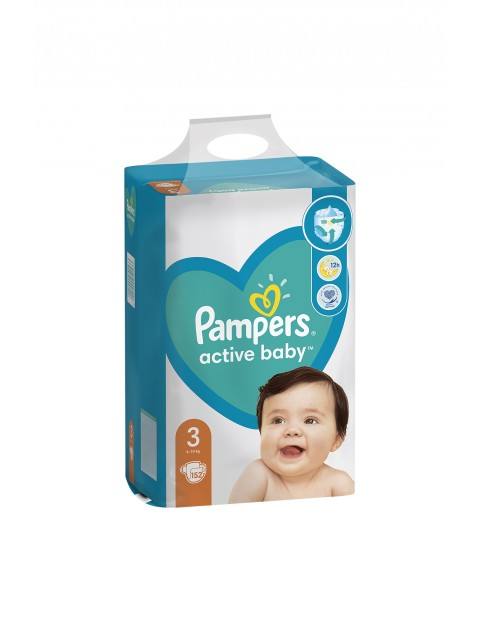 Pampers Active Baby, rozmiar3, 156szt, 6-10kg