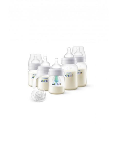 Zestaw butelek Anti-colic z nakładką AirFree™ Avent 5el
