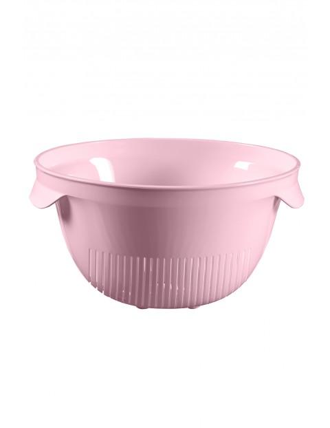 Cedzak okrągły różowy Curver - 26x23x13,2
