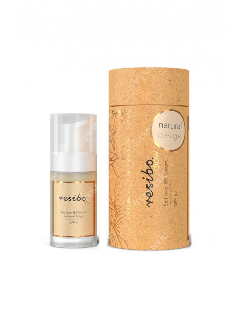 RESIBO GLOW-Self love, BB cream natural beige 30ml