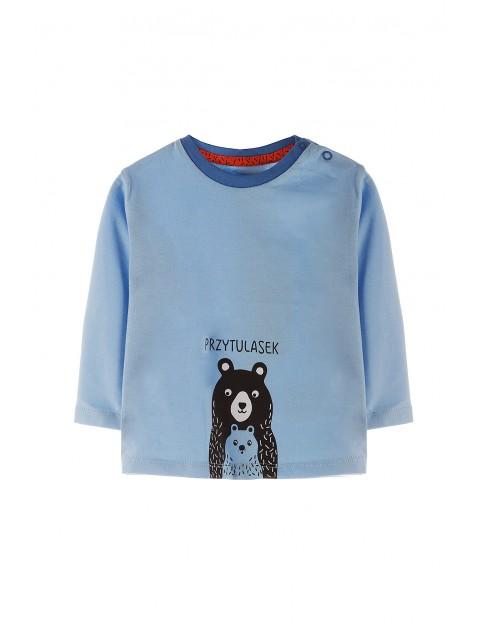 Bluzka niemowlęca dzianinowa 5H3536