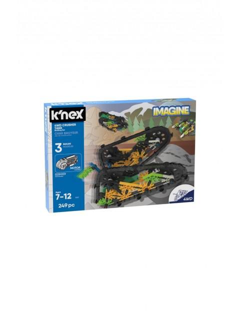 K'nex Imagine - Zestaw konstrukcyjny czołg 4WD - 249 elementów wiek 7+