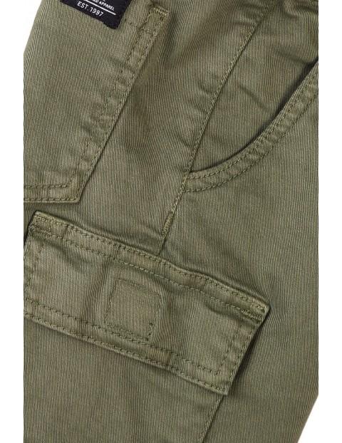 Szorty chłopięce w kolorze khaki