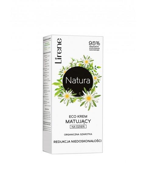 Lirene Natura Eco krem matujący na dzień organiczna szarotka 50 ml