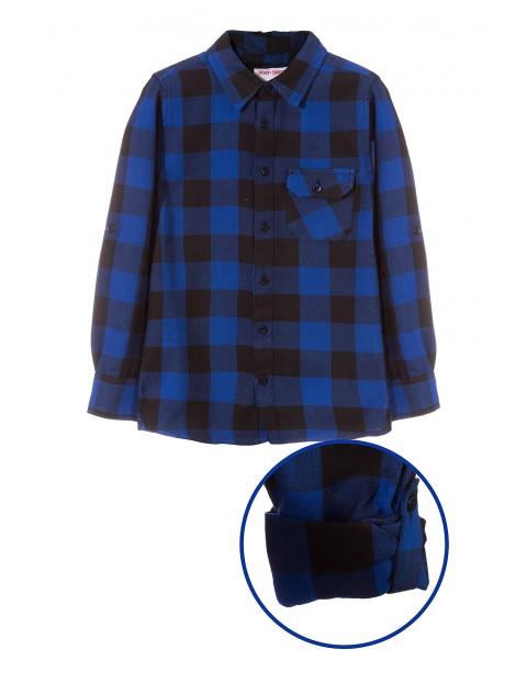 Koszula flanelowa w kratę 2J3516