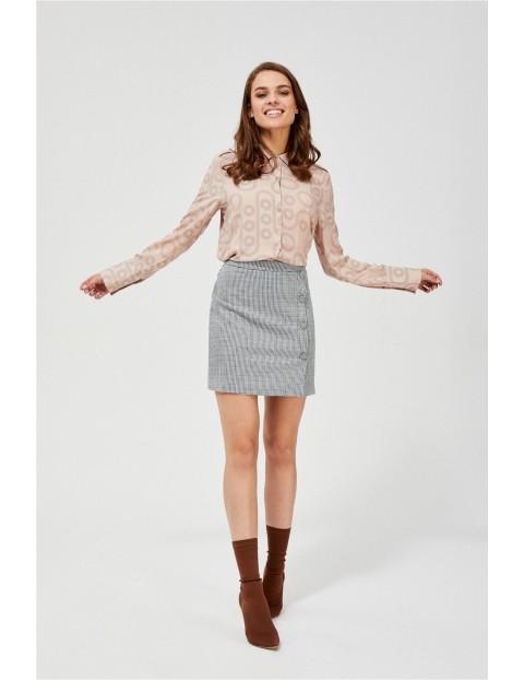 Spódnica damska ołówkowa w pepitkę