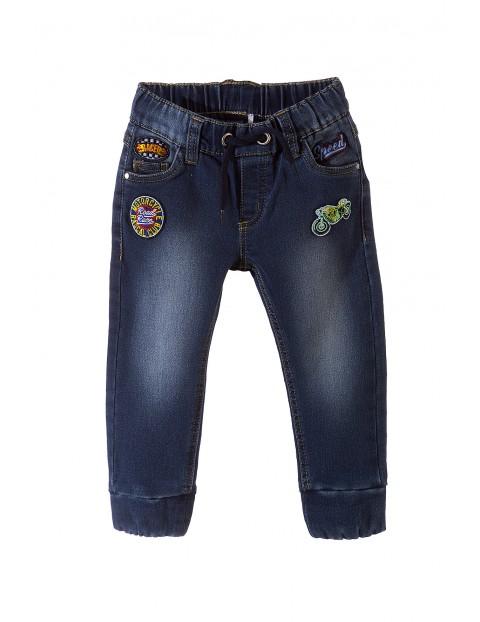 Spodnie chłopięce jeansowe 1L3604