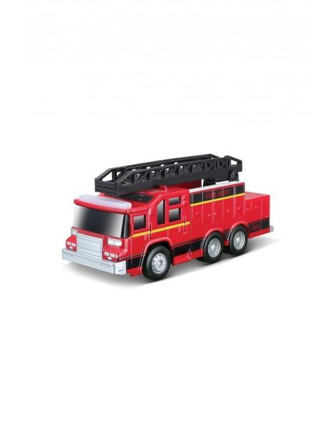 Ciężarówka straży pożarnej z dźwiękiem