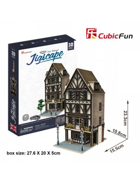PUZZLE 3D Restauracja Tudor