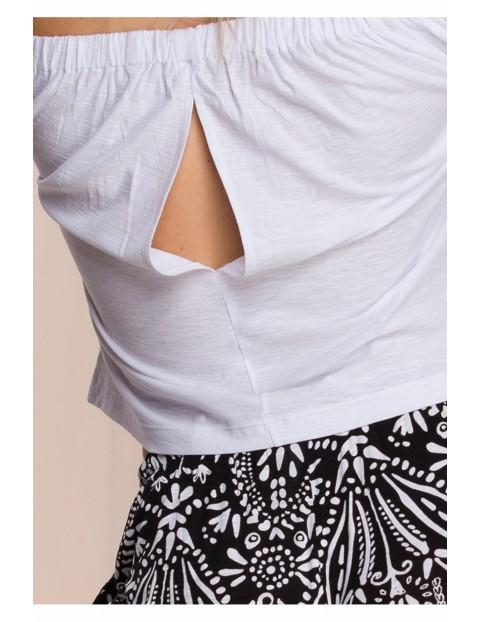 Biało-czarny homewear
