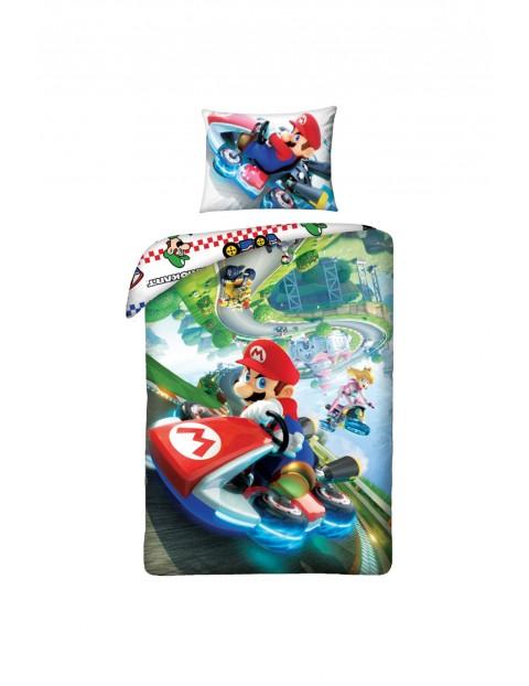 Komplet pościeli Super Mario- pościel + poduszka 140x200cm+70x90cm