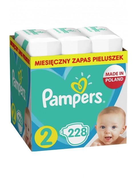 Pampers Active Baby, rozmiar2, 228pieluszek, 4-8kg