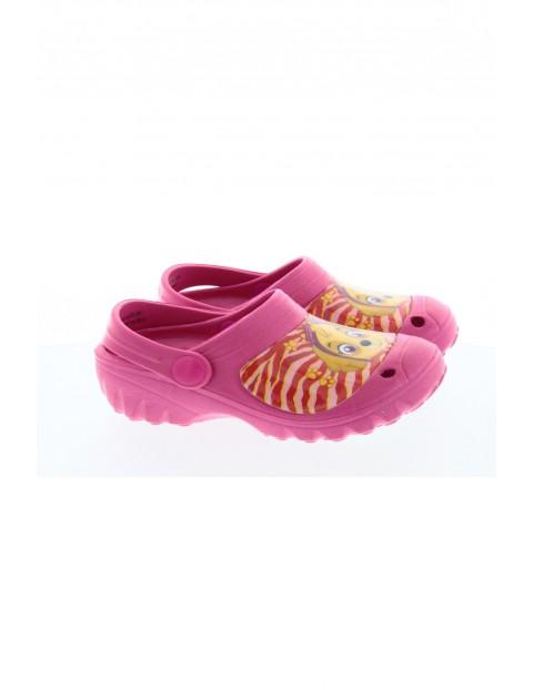 Psi Patrol - klapki dziewczęce w kolorze różowym