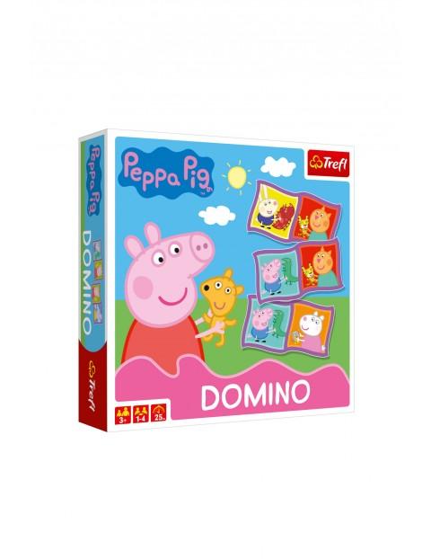 Gra dla dzieci - Domino Peppa wiek 3+