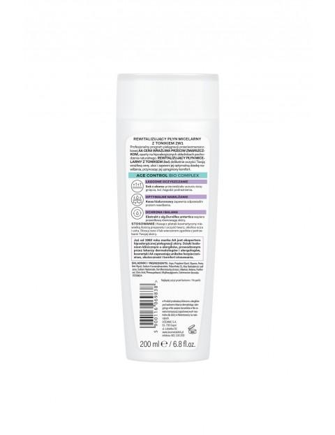 AA Cera Wrażliwa przeciw zmarszczkom płyn micelarny z tonikiem 2w1 - bezzapachowy 200 ml